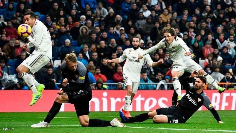 """ريال مدريد يصعد للمركز الثالث بعد انتصار """"اللحظات الأخيرة"""""""