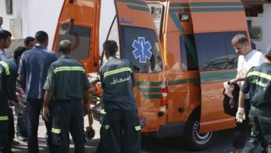 Photo of إصابة 8 أشخاص في حادث تصادم ببني سويف