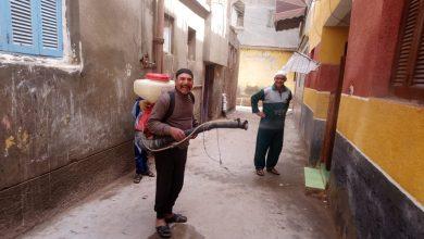 "Photo of ""عم احمد"" بائع خضروات يفضل مكافحة ""كورونا"" عن السعي لكسب قوت يومه"