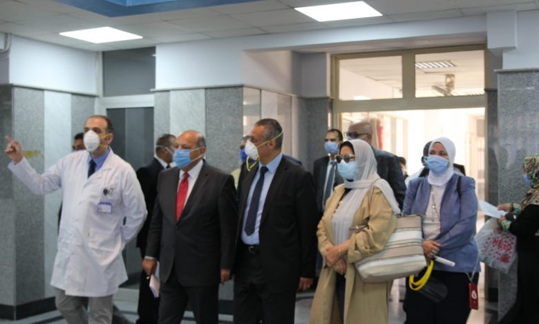 Photo of زيارة وفد مجلس أمناء القاهرة الجديدة إلى مستشفى الثدي بالتجمع الأول