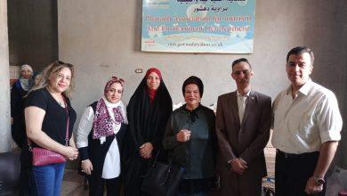 """Photo of """"مؤسسة المرأة المصرية والأفريقية"""" تتفقد مركز تدريب جمعية الفراعنة بدهشور"""