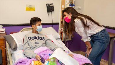 Photo of الفنانة ياسمين صبري تزور مستشفى سرطان الأطفال 57357 وتحقق أمنية طفلة طلبت زيارتها
