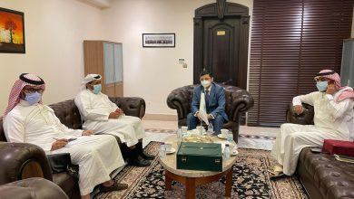 """Photo of """"السحيباني"""" يلتقي المدير التنفيذي للهيئة الدائمة المستقلة لحقوق الإنسان"""
